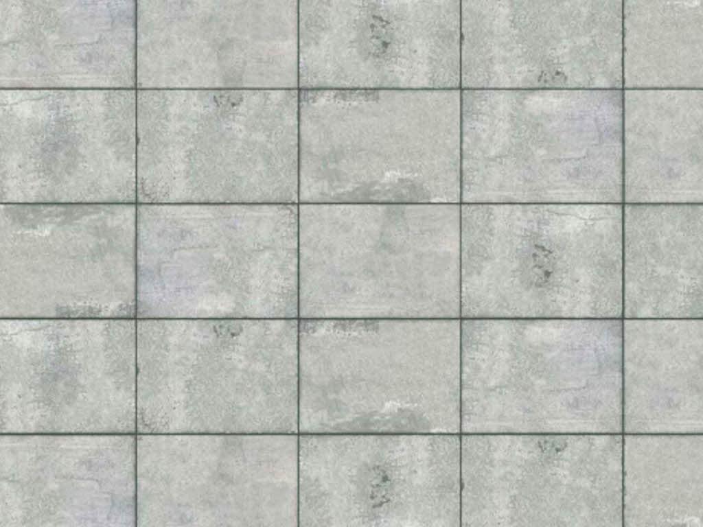 Busch 7412 Bastelplatte Betonplatten Beton 21x14,8 cm H0 TT Neu