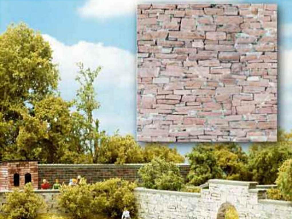 Busch 7423 bastelplatte Sabbia Pietra Roccia Pietra 21x14,8cm h0 TT Nuovo