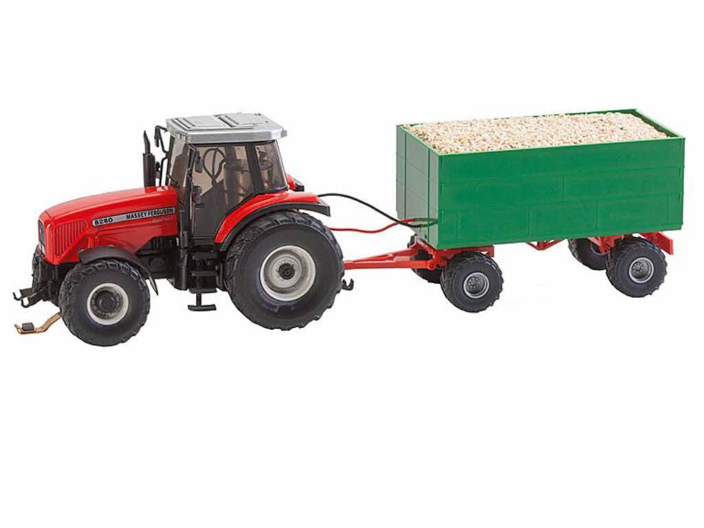 faller 161588 car system traktor mf mit hackschnitzel. Black Bedroom Furniture Sets. Home Design Ideas